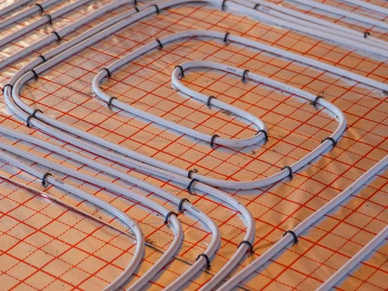 Vloerverwarming leggen
